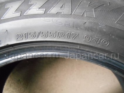 Зимние шины Bridgestone Blizzak revo2 215/55 17 дюймов б/у во Владивостоке
