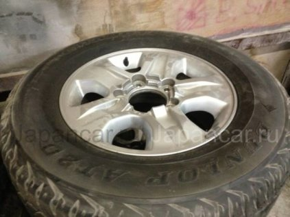 Летниe колеса Dunlop At20 275/65 17 дюймов Оригинальные диски б/у во Владивостоке