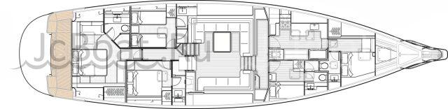 яхта парусная КА80 2019 года