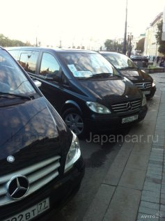 Прокат минивэна мерседес Виано с водителем во Владивостоке