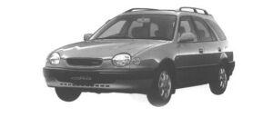 Toyota Sprinter Carib 1.6 2WD ROSSO 1998 г.