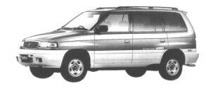 Mazda MPV 4WD TYPE G-L 2500 DIESEL TURBO 1998 г.