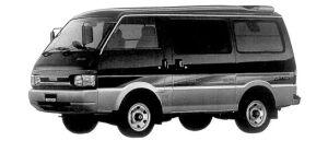 Mazda Bongo VAN LOW FLOOR 4WD 2.2 DIESEL GL SUPER 1998 г.