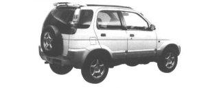 Daihatsu Terios CX 1998 г.