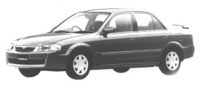 Mazda Familia SEDAN RX 1998 г.