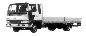 Hino Ranger FD WIDE CAB, ULTRA LOW FLOOR 1998 г.