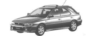 Subaru Impreza SPORT WAGON SRX 1998 г.