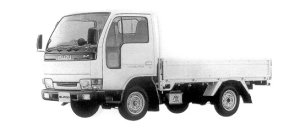 Isuzu Elf 100 1T FLAT LOW STANDARD BODY 1998 г.