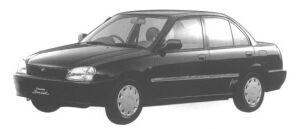 Daihatsu Charade POSE 5DOOR 1998 г.