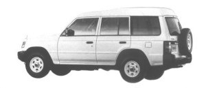 Mitsubishi Pajero KICK UP ROOF GE-VAN 1998 г.