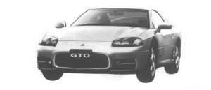Mitsubishi Gto SR 1998 г.