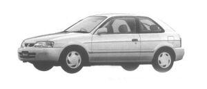 Toyota Tercel 3DOOR AVENUE 1300EFI 1998 г.