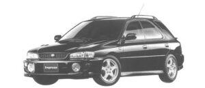 Subaru Impreza SPORT WAGON WRX 1998 г.