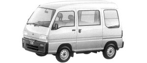 Subaru Sambar VAN HIGH ROOF SDX 1998 г.