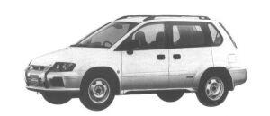 Mitsubishi RVR SPORTS GEAR X 1998 г.