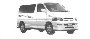 Toyota Regius EUROPIAN CUSTOM 2WD 1998 г.
