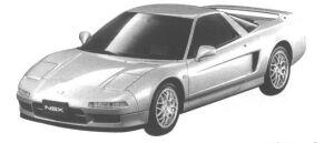 Honda NSX TYPE S 1998 г.