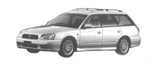 Subaru Legacy TOURING 250T-B 1998 г.