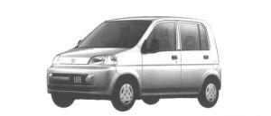 Honda Life G TYPE 1998 г.
