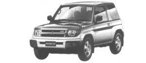 Mitsubishi Pajero IO ZR 1998 г.