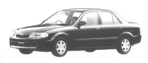 Mazda Familia SEDAN LS 1998 г.