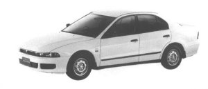 Mitsubishi Galant VE 1998 г.