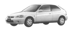 Honda Civic 3DOOR VTi 1998 г.