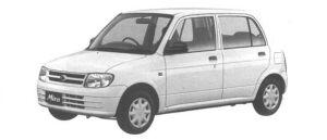 Daihatsu Mira CL 1998 г.