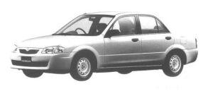 Mazda Familia SEDAN ES 1998 г.