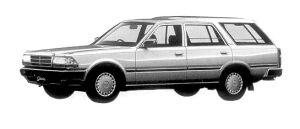 Nissan Gloria VAN V20E GL 1998 г.