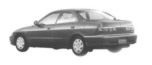 Honda Integra 4DOOR HARD TOP Xi-4WD 1998 г.