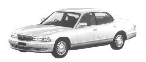 Mazda Sentia LIMITED 1998 г.