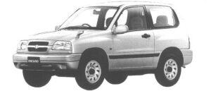 Suzuki Escudo 3DOOR 1600JM 1998 г.