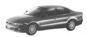 Mitsubishi Galant EXCEED 1998 г.