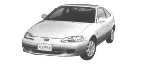 Toyota Cynos 1.3a 1998 г.