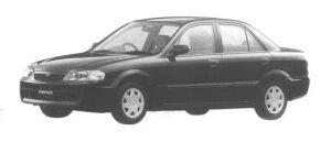 Mazda Familia SEDAN LS 4WD 1998 г.