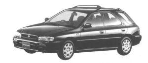 Subaru Impreza SPORT WAGON C'Z 1998 г.