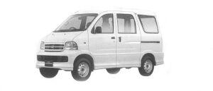 Daihatsu Hijet VAN GRAN CARGO 2WD 2001 г.