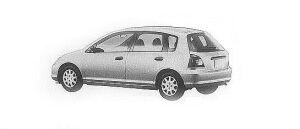 Honda Civic B 2001 г.