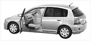 Honda Civic ALMAS,Swiveling Passenger Seat Version X 2003 г.