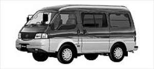 Mazda Bongo VAN LOW FLOOR 4WD HIGH ROOF, GL SUPER 2003 г.