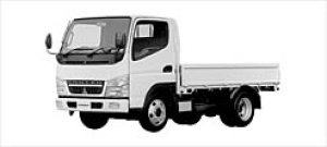 Mitsubishi Canter ALL LOW FLOOR, 4WD STANDARD BODY 2003 г.