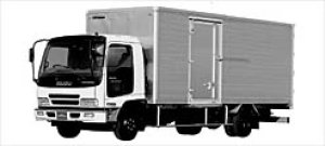 Isuzu Forward V Smoother-F DRY VAN, 151kW (205PS) 2003 г.
