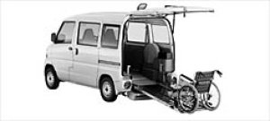 Mitsubishi Minicab Wheelchair Spec. Kneel-down Type 2003 г.