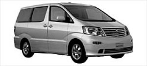 """Toyota Alphard V MZ """"G Edition"""" 7-seaters 2003 г."""