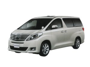 Toyota Alphard 350G F Package 7-seater 2015 г.