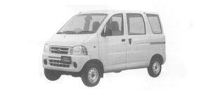 Daihatsu Hijet VAN CARGO SPECIAL, STANDARD ROOF 2000 г.