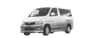 Mazda Bongo Friendee AERO 2WD V6 2.5L, NORMAL ROOF CAR 2000 г.