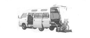 Nissan Caravan 2WD STRETCHER-TYPE CHAIR CAB TYPE1 2000 г.