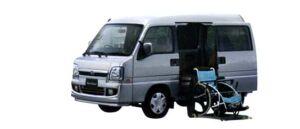 Subaru Dias WagonTrans Care Electric Lifter 2006 г.